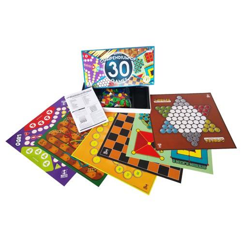 Compendium of 30 Games SPM 23 (Boardgames) Game Ular, Catur, Dam spm23