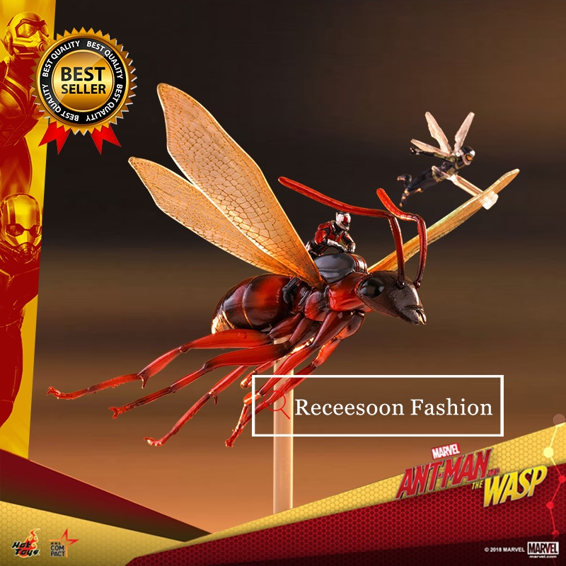 10cm Marvel Avengers Ant-Man WASP Ant Man Super Hero Flying Tiny Antman Figure