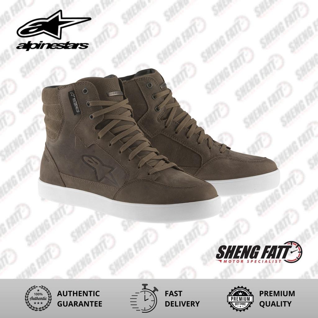 Alpinestars J6 Waterproof Riding Boots (Brown)