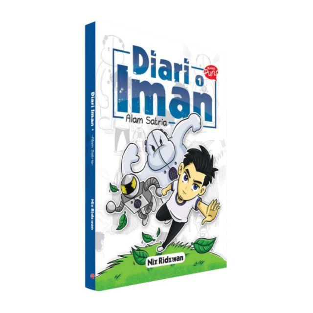 Komik Puris : DIARI IMAN 1 - Nix Ridzwan