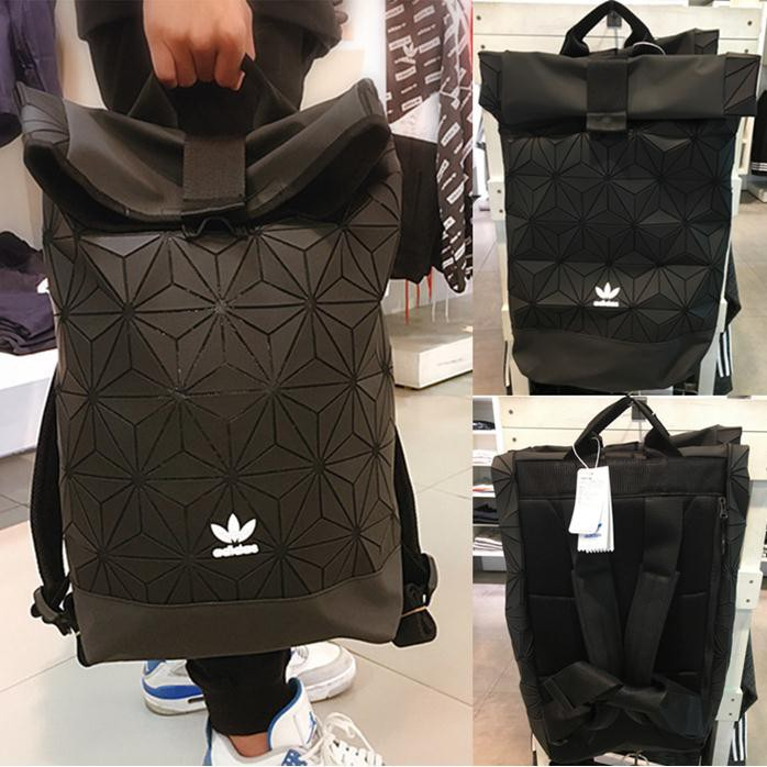 Adidas x Issey Miyake 3D Mesh men women Drawstring Backpack student bag  AY9354  efeef54eb5d42