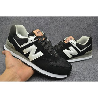 online store 7a9df 53299 Original new balance nb574 black white running sport shoe ...