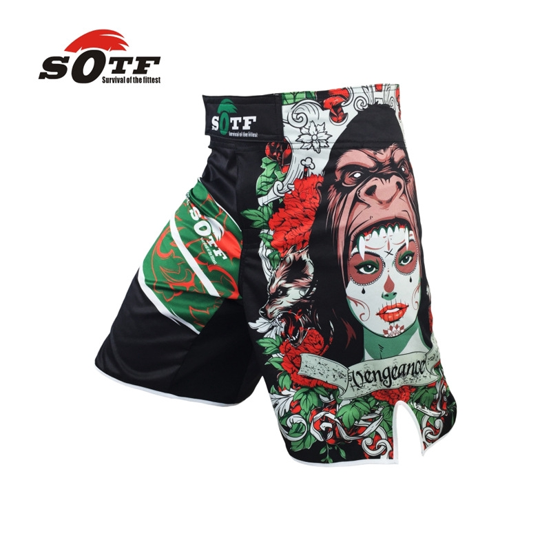 SOTF MMA Fighting Tigers Tight Champion Trousers Comfortable And Breathable