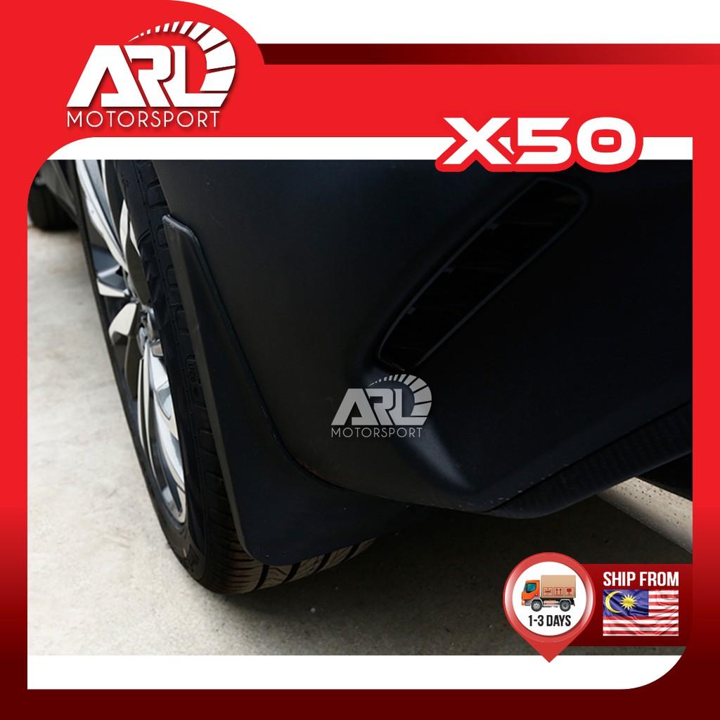 Proton X50 2020 2021 Mudguard Mud flat Car Mud Flaps Car Mud Guard Car Auto Acccessories ARL Motorsport