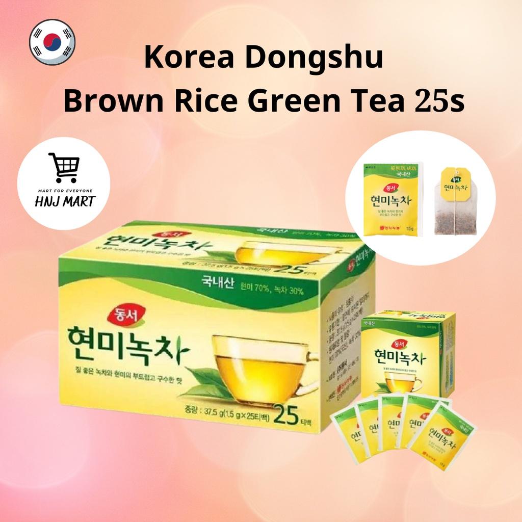 Korea Dongsuh Brown Rice Green Tea with Brown Rice Teabag Sachet