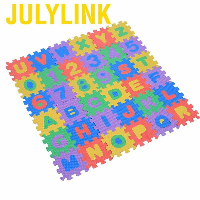 36Pcs Soft EVA Foam Play Mat Numbers /& Letters Baby Children Kids Playing Crawling Pad Toys Baby Crawling Play Mat