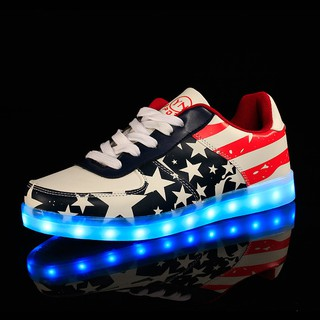 another chance super cheap wide varieties Led Shoes USB Charge Lights Shoes Women And Men's Shuffle Dance Shoes