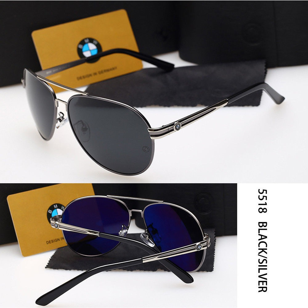 2018 BMW  Men/'s Sunglasses Polarized UV400 Men Eyewear Fashion Driving Sunglass