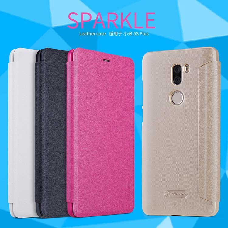 Vivo V5 V5S Y67 Nillkin Sview Sparkle Leather Flip Case Cover   Shopee Malaysia