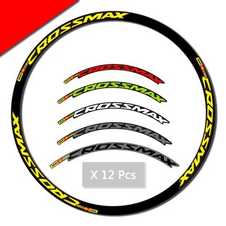 Bicycle Tires, Tubes & Wheels MAVIC CROSSMAX SLR 29 inch  MTB REPLACEMENT DECAL SET FOR   FOR 2 RIMS