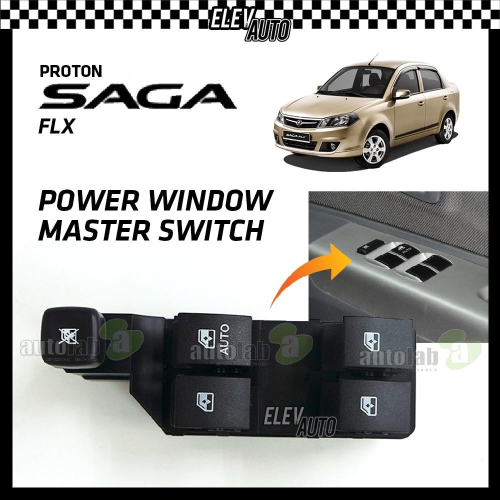 Proton Saga FLX Power Window Master Switch (4 Button) AM-772