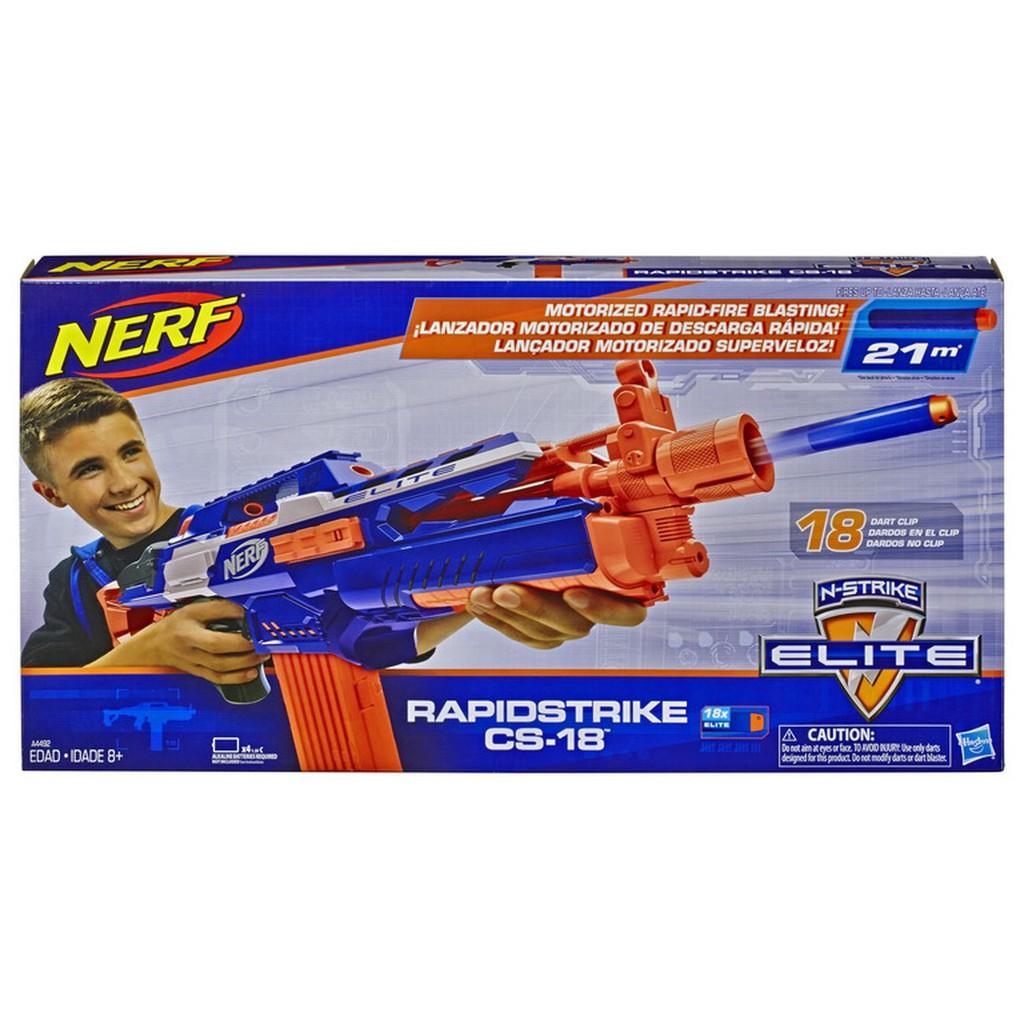 Nerf N Strike Elite Rapidstrike Cs 18 Toy Blaster Shopee Malaysia