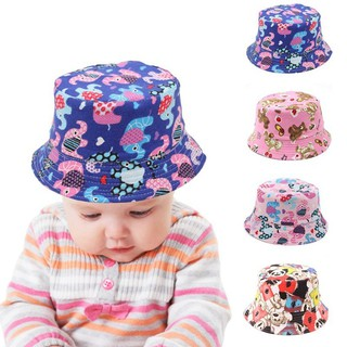 5a0fd77bd Sun Proof Kids Boys Girls Cute Sun Block Fisherman Hat Bucket Hat ...