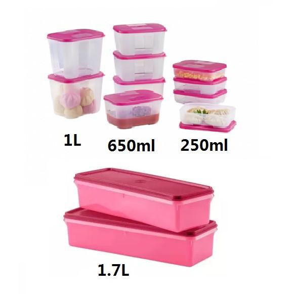 Tupperware FreezerMate Junior/ Small/ Medium/ Large 250ml OR 290ml OR 550ml OR 650ml OR 1L OR 1.5L OR 2.3L OR 5.6L