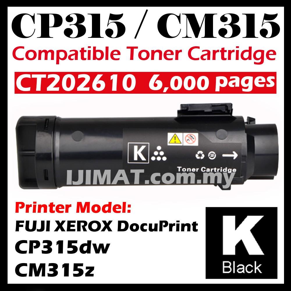 Fuji Xerox DocuPrint CP315dw CM315z CT202610 CT202611 CT202612 CT202613  FULL SET