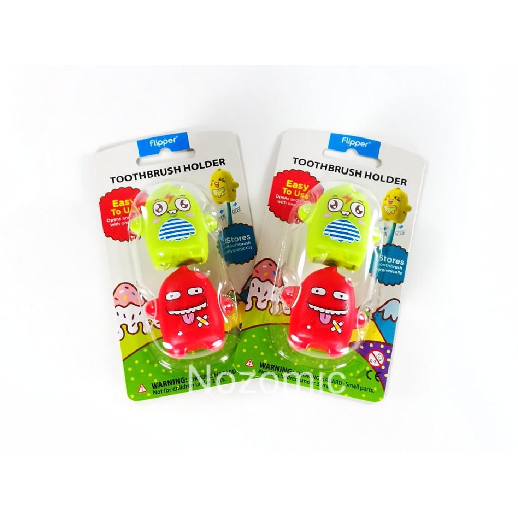 Flipper Tooth Brush Holder Tootbrush Cover Pororo Series For Kids Shopee Malaysia