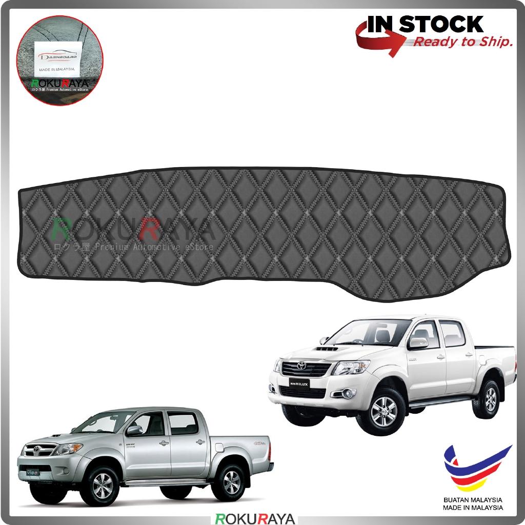 Toyota Hilux Vigo (7th Gen) 2004-2015 RR Malaysia Custom Fit Dashboard Cover (BLACK LINE)
