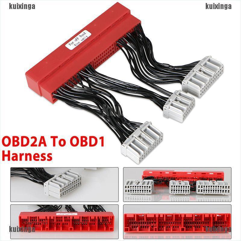 OBD2A TO OBD1 ECU Adapter Harness Conversion Jumper For 96-98 HONDA CIVIC