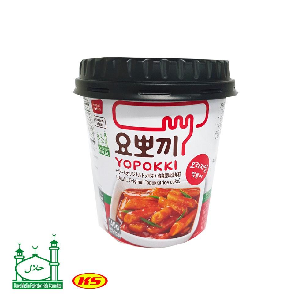 YOPOKKI HALAL (read before purchase) Korea Yopokki Sweet Spicy ,Hot Spicy  Jjajang Halal cheese,onion butter non halal