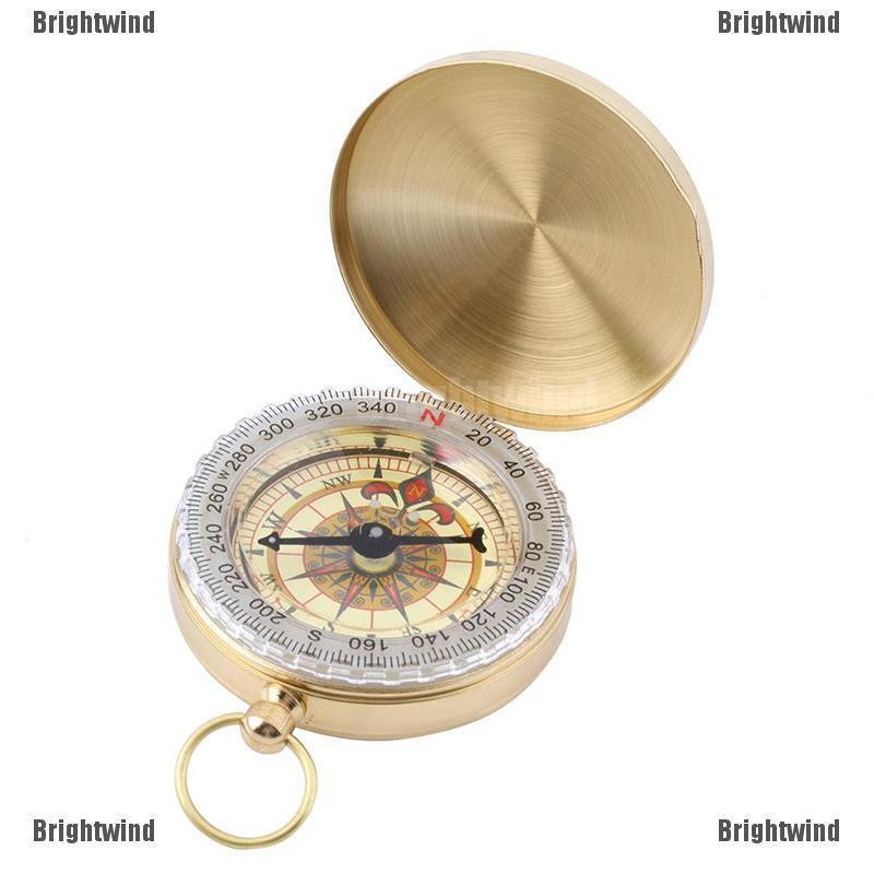 Brightwind Outdoor Hiking Camping Accessories Clic Br Pocket Watch Style Comp