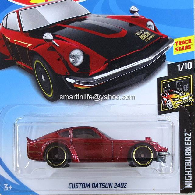 Hot Wheels Hotwheels Custom Datsun 240Z 1:64 1//64 diecast Nightburnerz 1//10