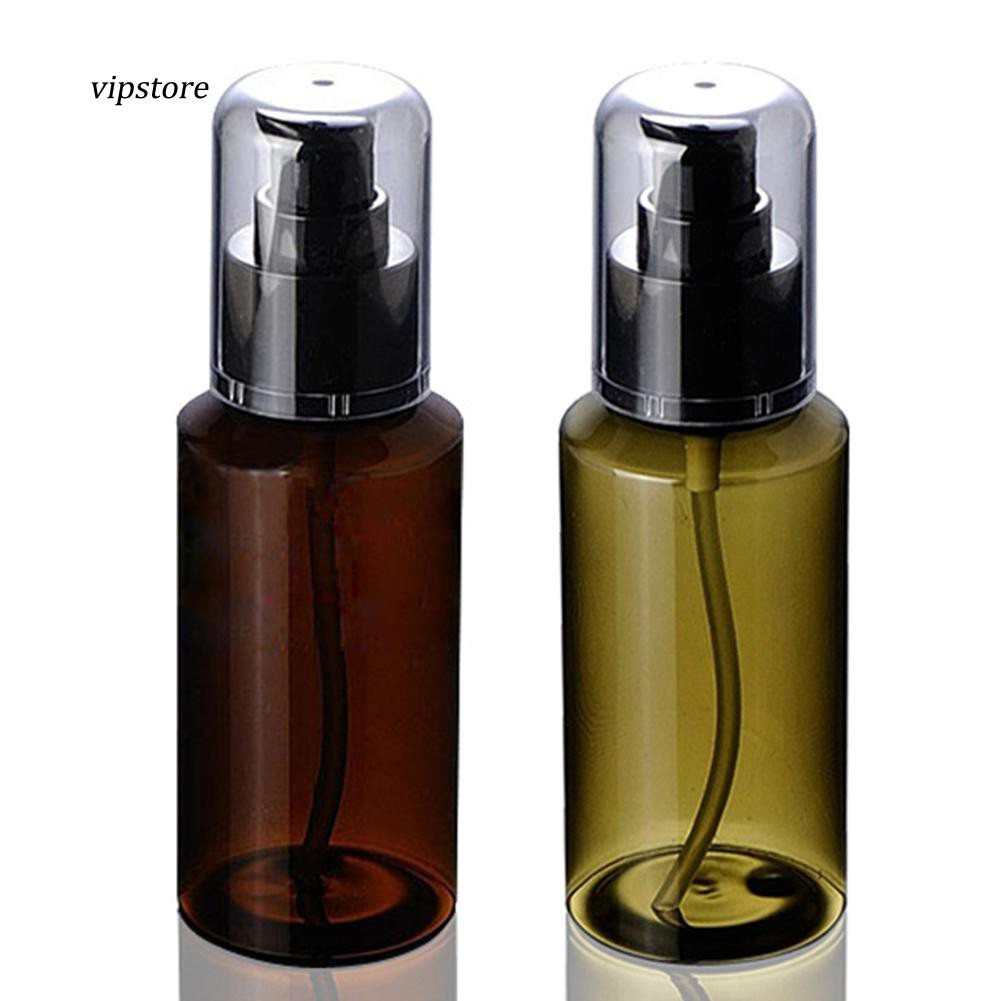 a8adeb2844b8 【VIP】100ml Portable Travel Cosmetic Liquid Lotion Container Empty  Refillable Bottle