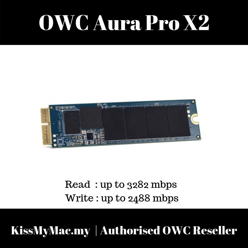 SSD Drive 120GB Apple Macbook Air Retina A1370 A1369 2013-2015 OWC Aura Pro