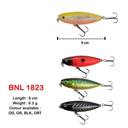 BAKAU DAYNIGHT FISHING LURE BNL 1823 #6CM