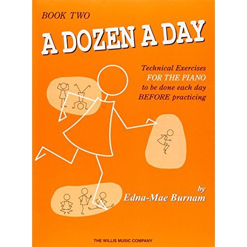 THE WILLS MUSIC COMPANY A DOZEN A DAY TECHNICAL EXERCISES BOOK 2