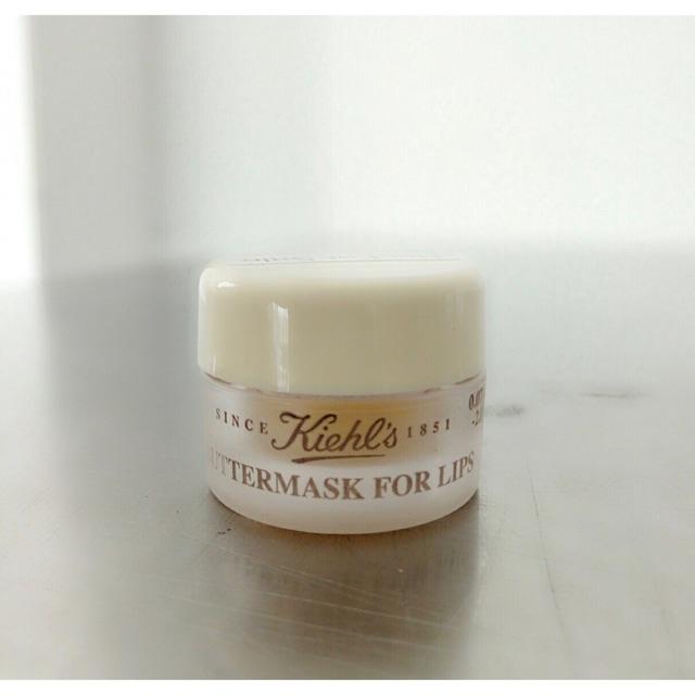 Kiehl's butter mask for lips