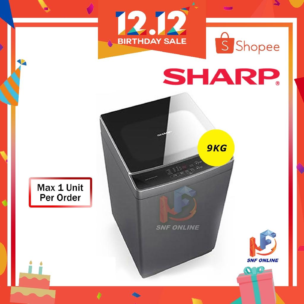 Sharp 9KG Fully Auto Washing Machine ESX958 Premium Series