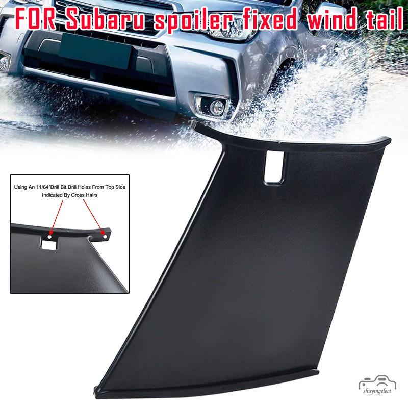 [SY] 1 Pcs Car Rear Wing Spoiler Bumper Replacement Accessories for 04-07  Subaru