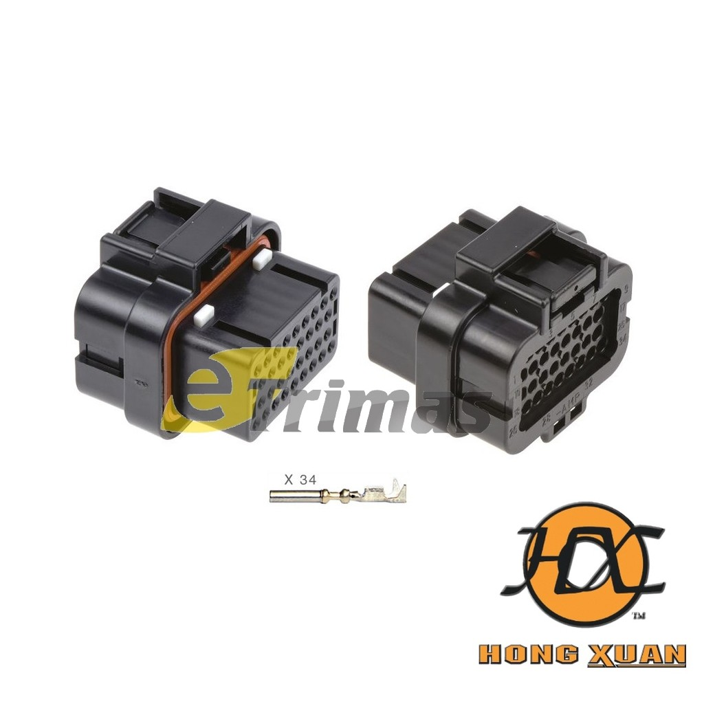 Hx 3921 Fm Bosch Mercedes Benz Scania Engine Alternator Socket Wiring Diagram Connector Shopee Malaysia
