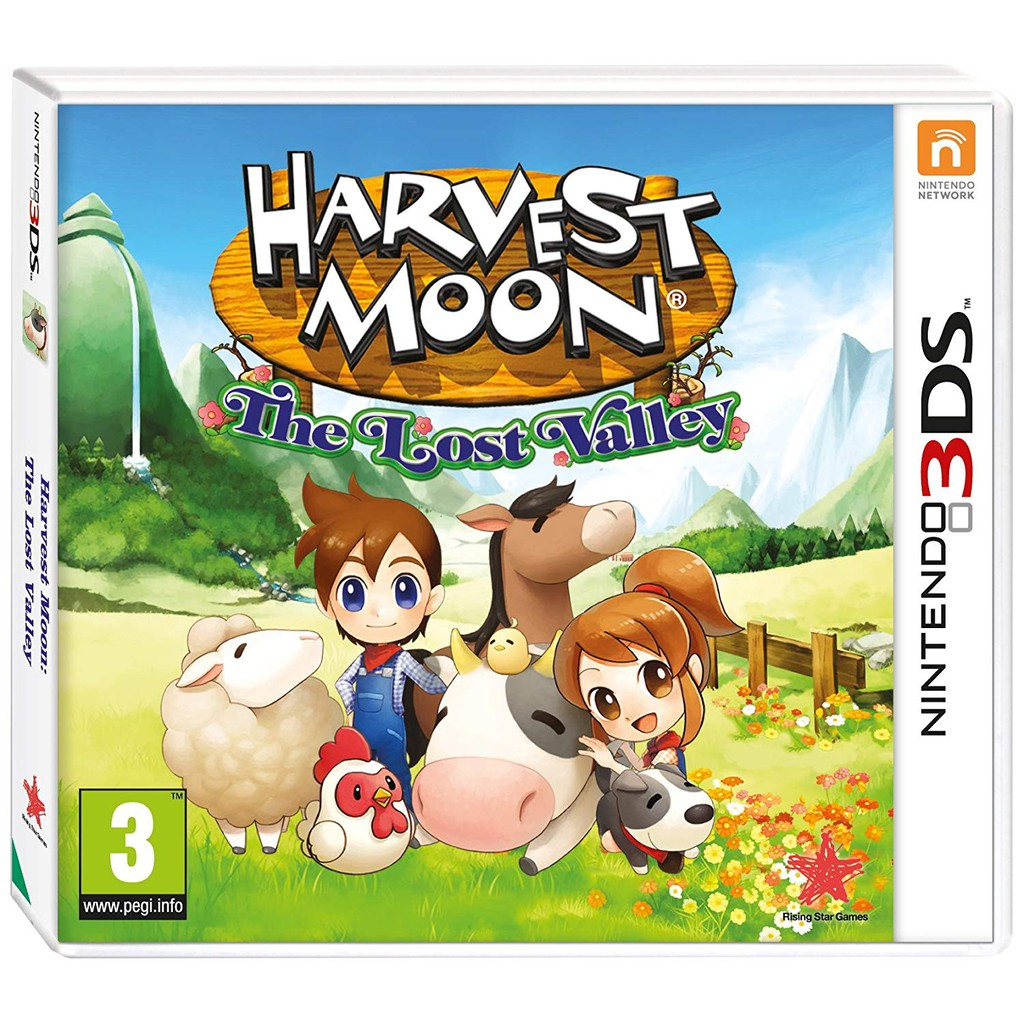Harvest Moon: The Lost Valley (PC) Dvd Copy