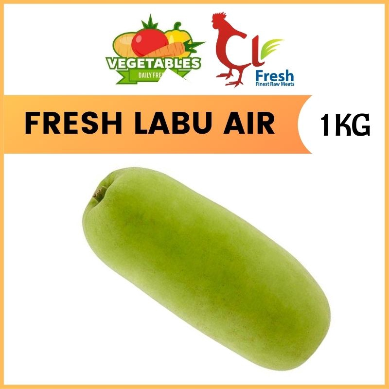 Fresh Water Pumpkin / Labu Air 1KG