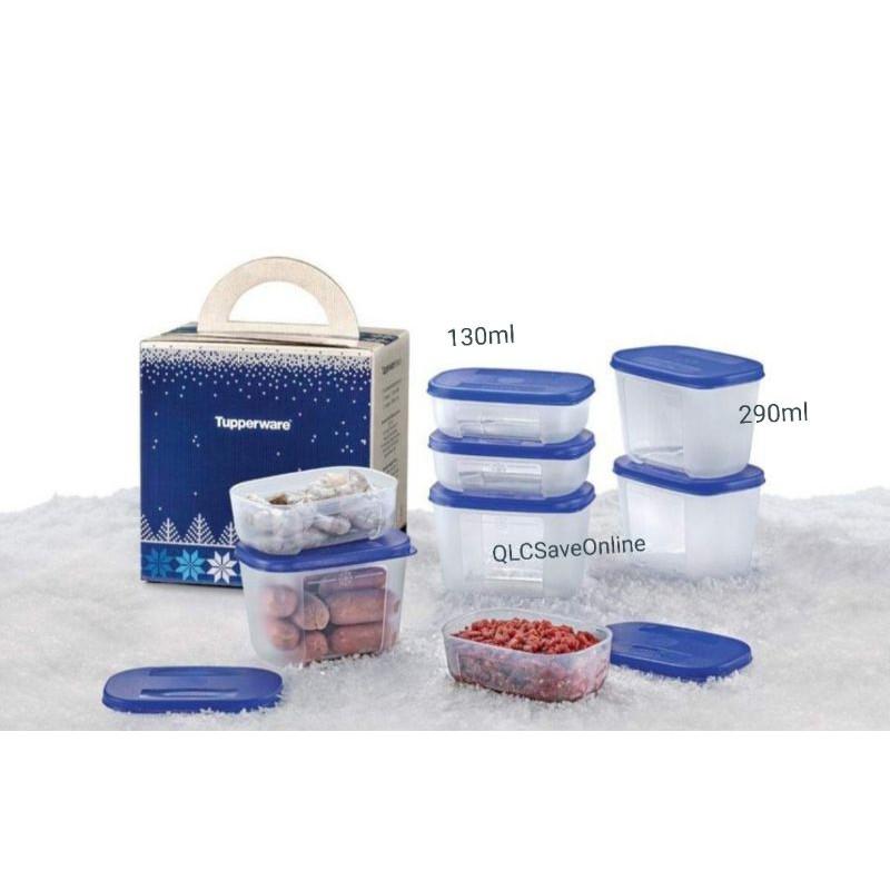 Tupperware Freezermate Junior I/II Purple/Blue (1pc)