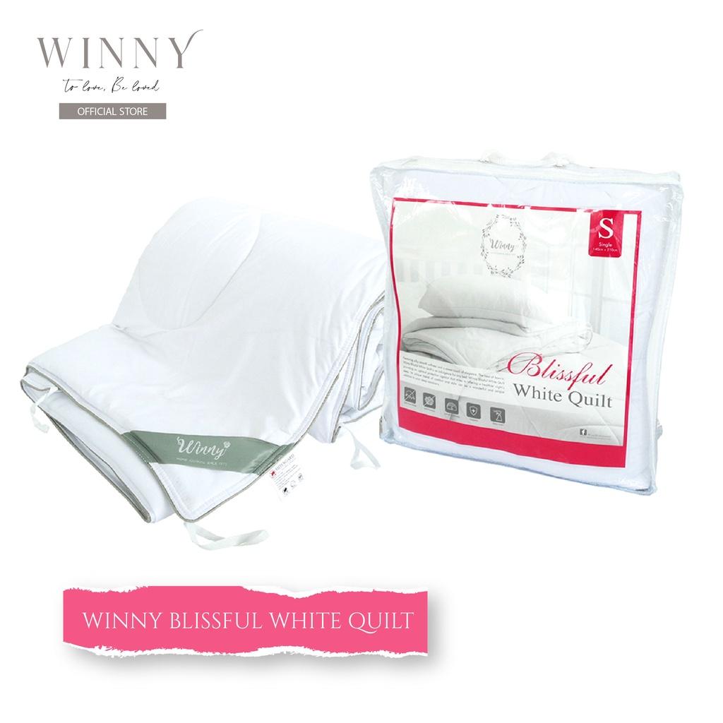 Winny Blissful White Quilt