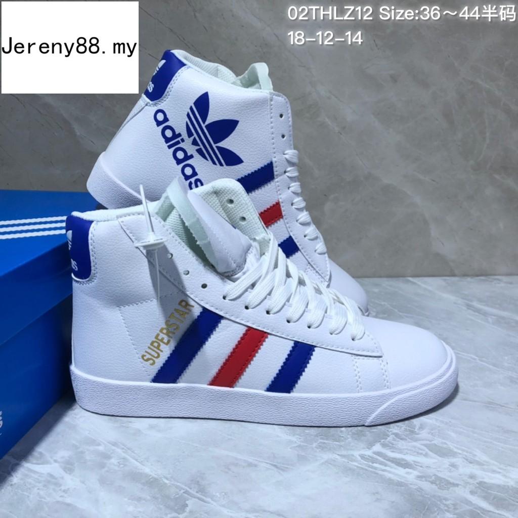 f56ad2f3fd505 In Stock Adidas Original Superstar Outdoor Mid women men sneaker shoe size  36-44