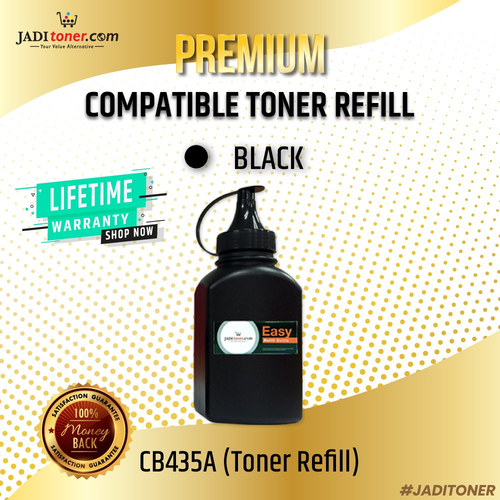 [SALE] 1 Easy Refill Toner for use in CB435A / CB436A / CE285A / 435A / 436A / 285A/ CRG325/ 325