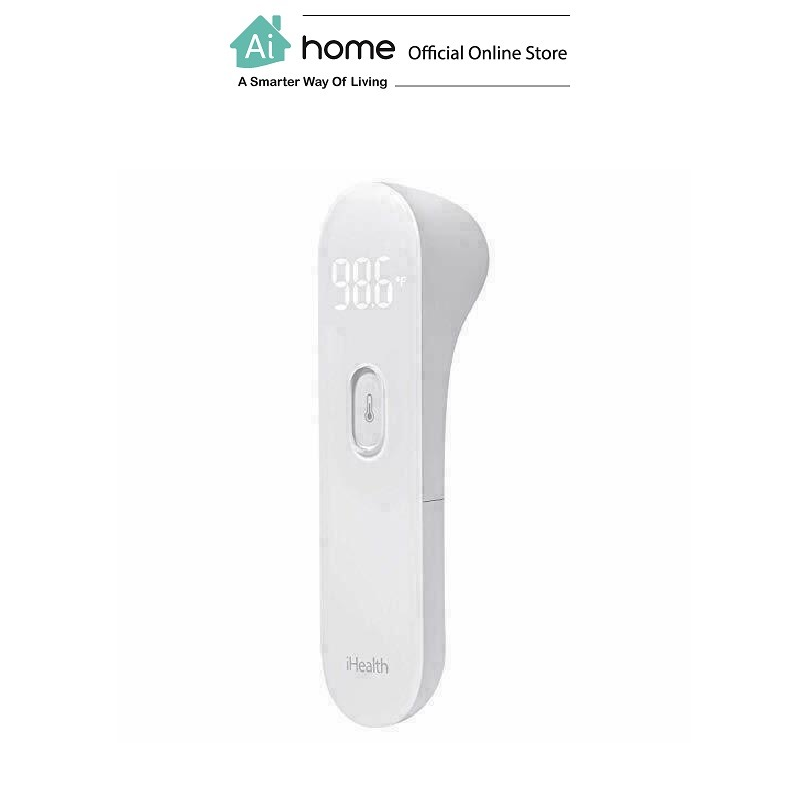 IHEALTH Digital Infrared Thermometer PT3 (White) with 1 Year Malaysia Warranty [ Ai Home ]
