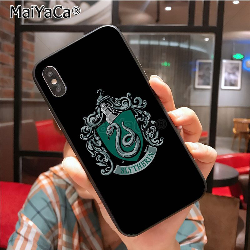 Harry Potter always Slytherin case for Iphone Soft Phone Case