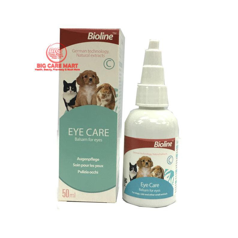 Bioline Eye Care Clean Pet Eyes 50ml