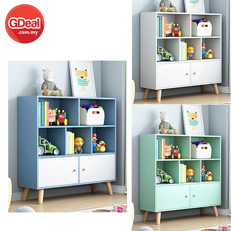 GDeal Multifunctional Modern Bookshelf Cabinet Storage Multilayer Rack Shelf Bookcase (G36)