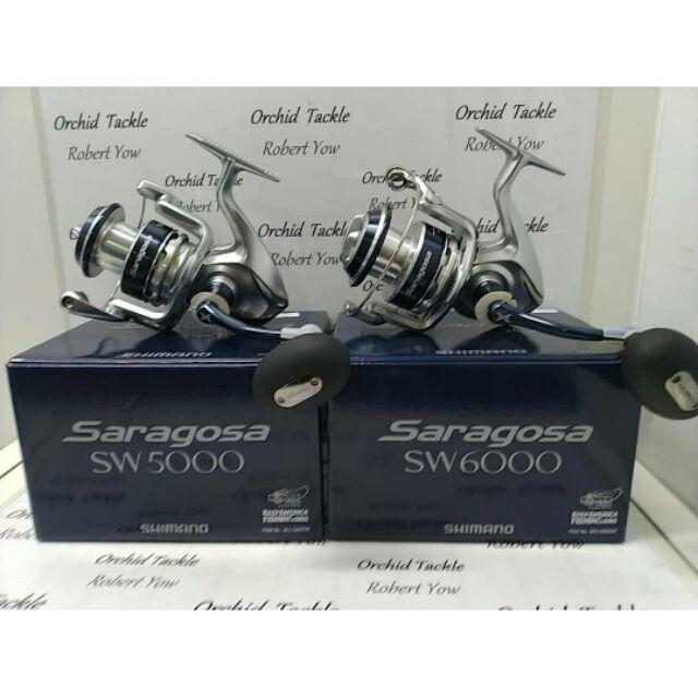 Shimano Saragosa SW fishing reel🔥WARRANTY 1 YEAR🔥