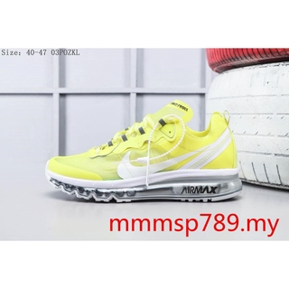 Nike AIR MAX 2017x React Element 87 Yellow Reaction Element Running Shoes