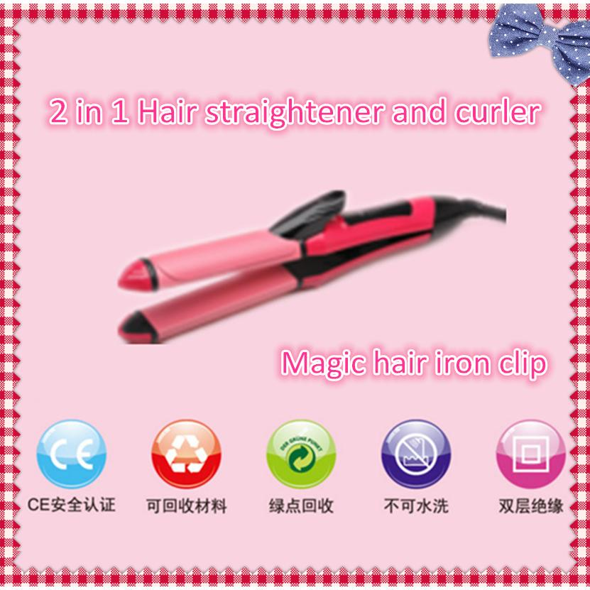 Nova Hair Straightener and Curler Without/With Temperature Control (2 In 1) | Shopee Malaysia