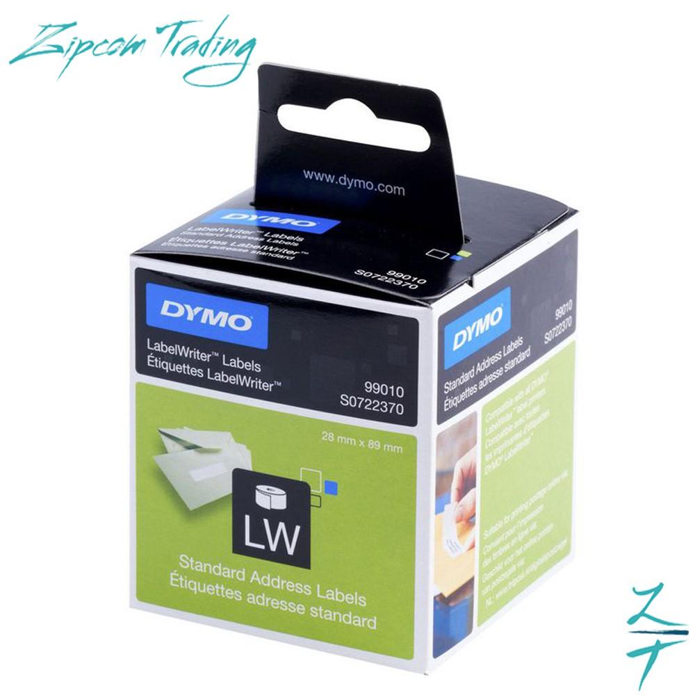 (ORIGINAL) DYMO 99010 Standard Address Labels (89mm x 28mm)