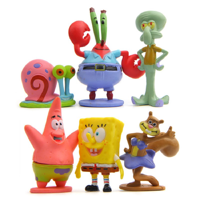 6pcs PVC Figure Collection Model Toy Kids Gift