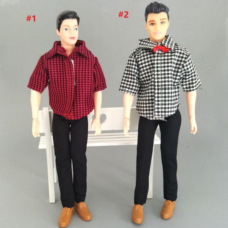 Black Handmade Trousers For Ken Doll Pants For Boyfriend Prince Ken Boy Doll 1//6