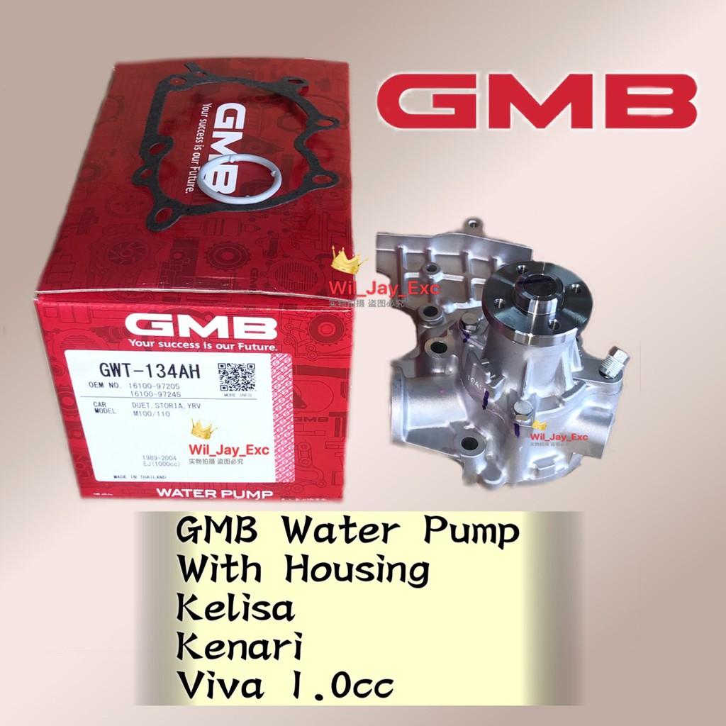 GMB GWT-134AH MYVI 1 0,KELISA 1 0 VIVA 1 0,KENARI 1 0 WATER PUMP WITH  HOUSING